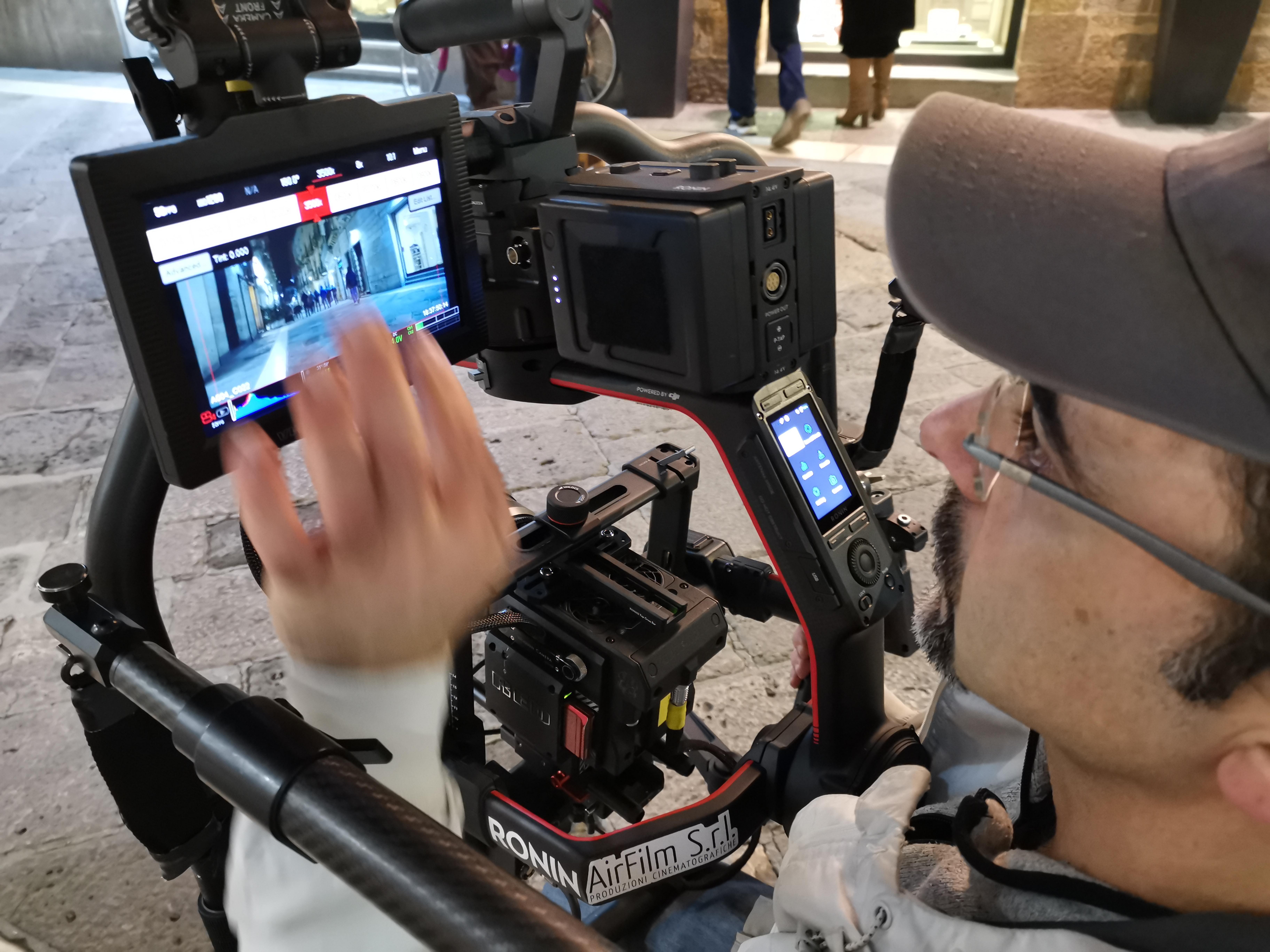 Backstage test RED Monstro 8k VV con Zeiss CP3 cinema
