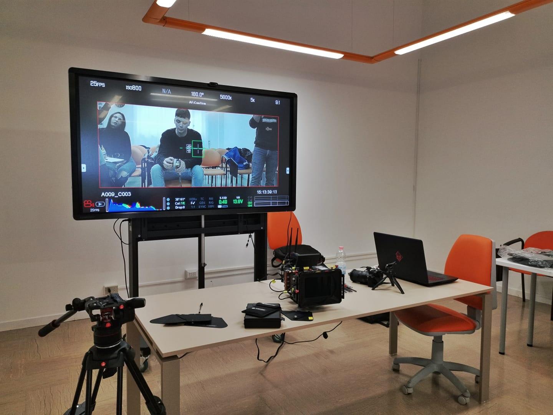 Docenza di VideoMaking presso la scuola professionale ADSUM