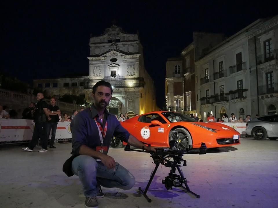Riprese aeree Ferrari Cavalcade 2014 SICILIA
