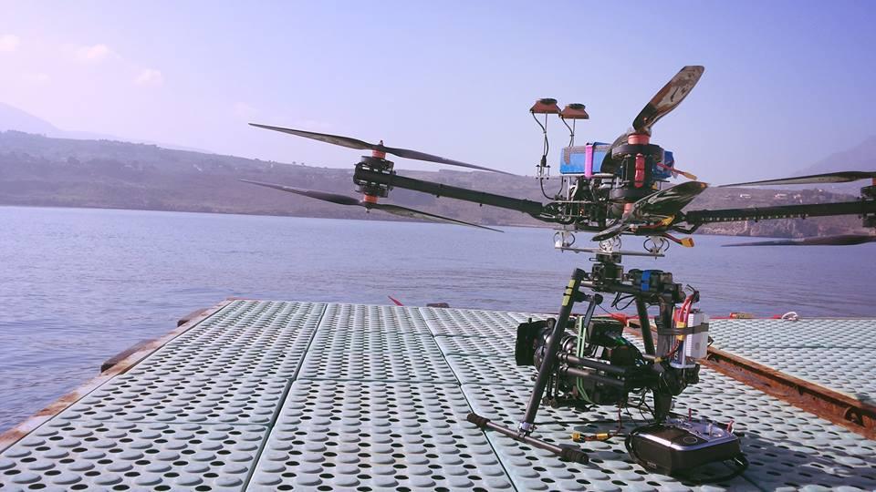 Riprese aeree sul set del film WALT DISNEY