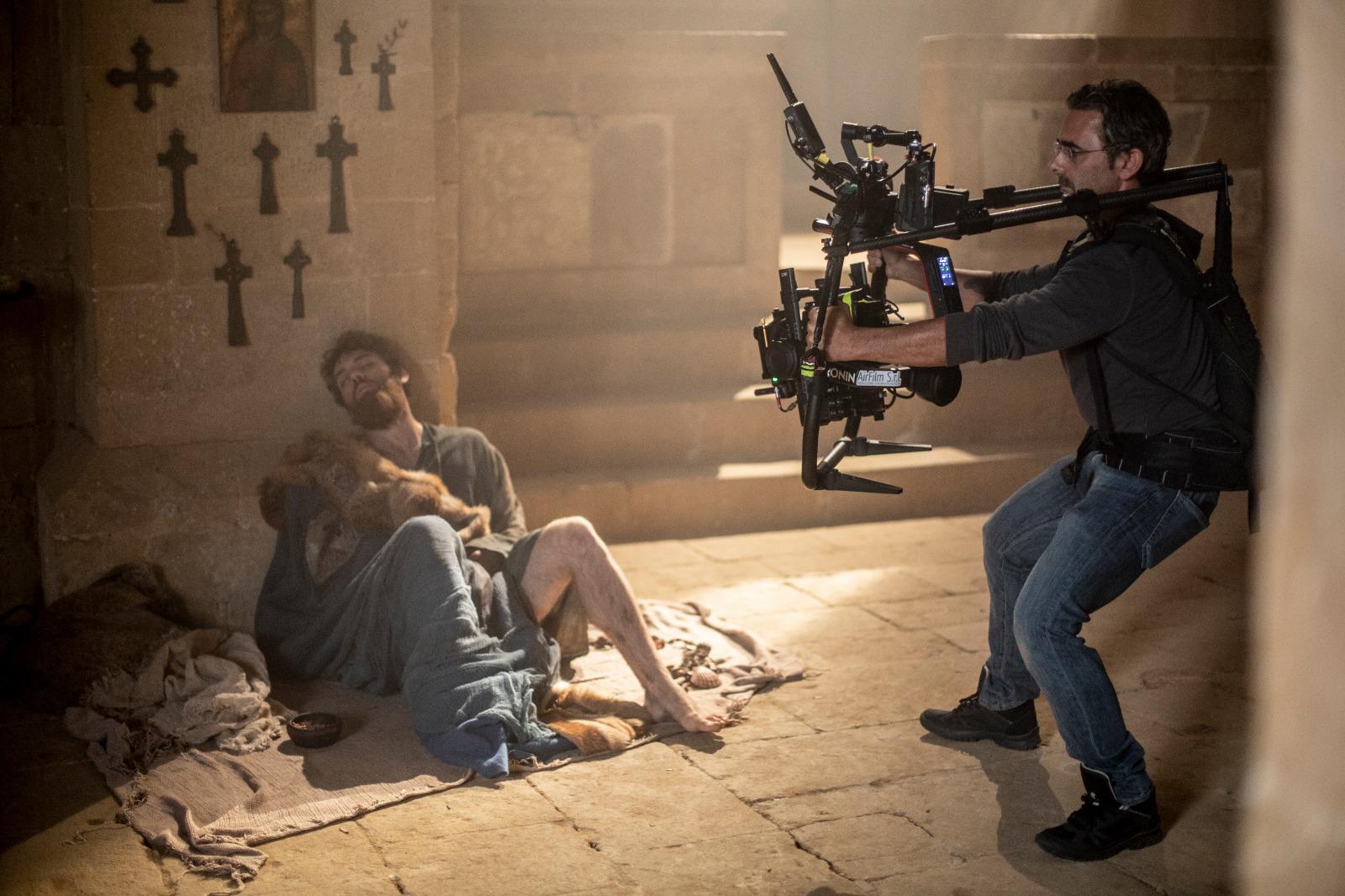 Sul set del film PARSIFAL di Marco Filiberti, Toscana