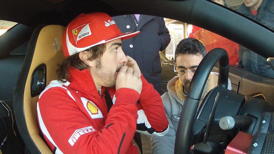 Video promozionale Ferrari FF con F.Alonso e F.Massa