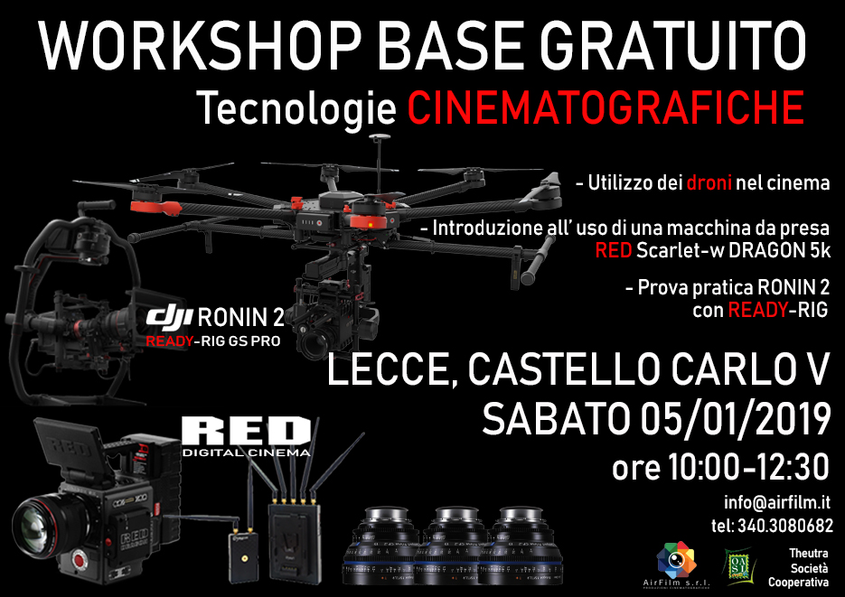 Workshop sulle tecnologie cinematografiche